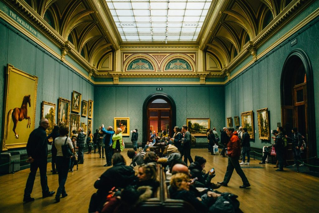 gallery, architecture, museum