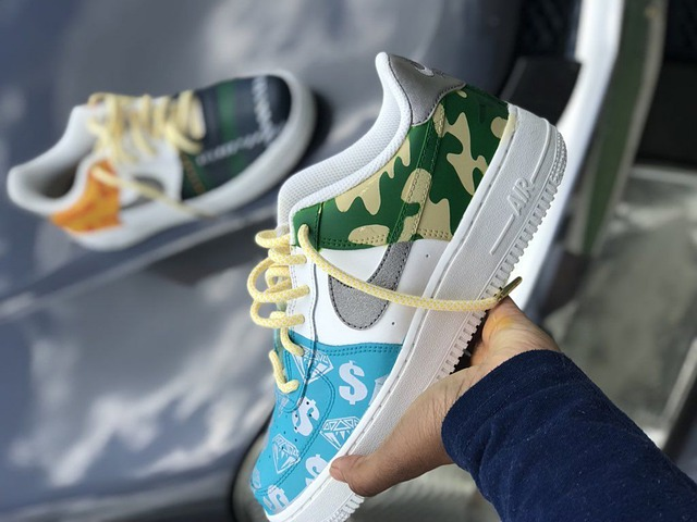 customised low top nike basketball shoes